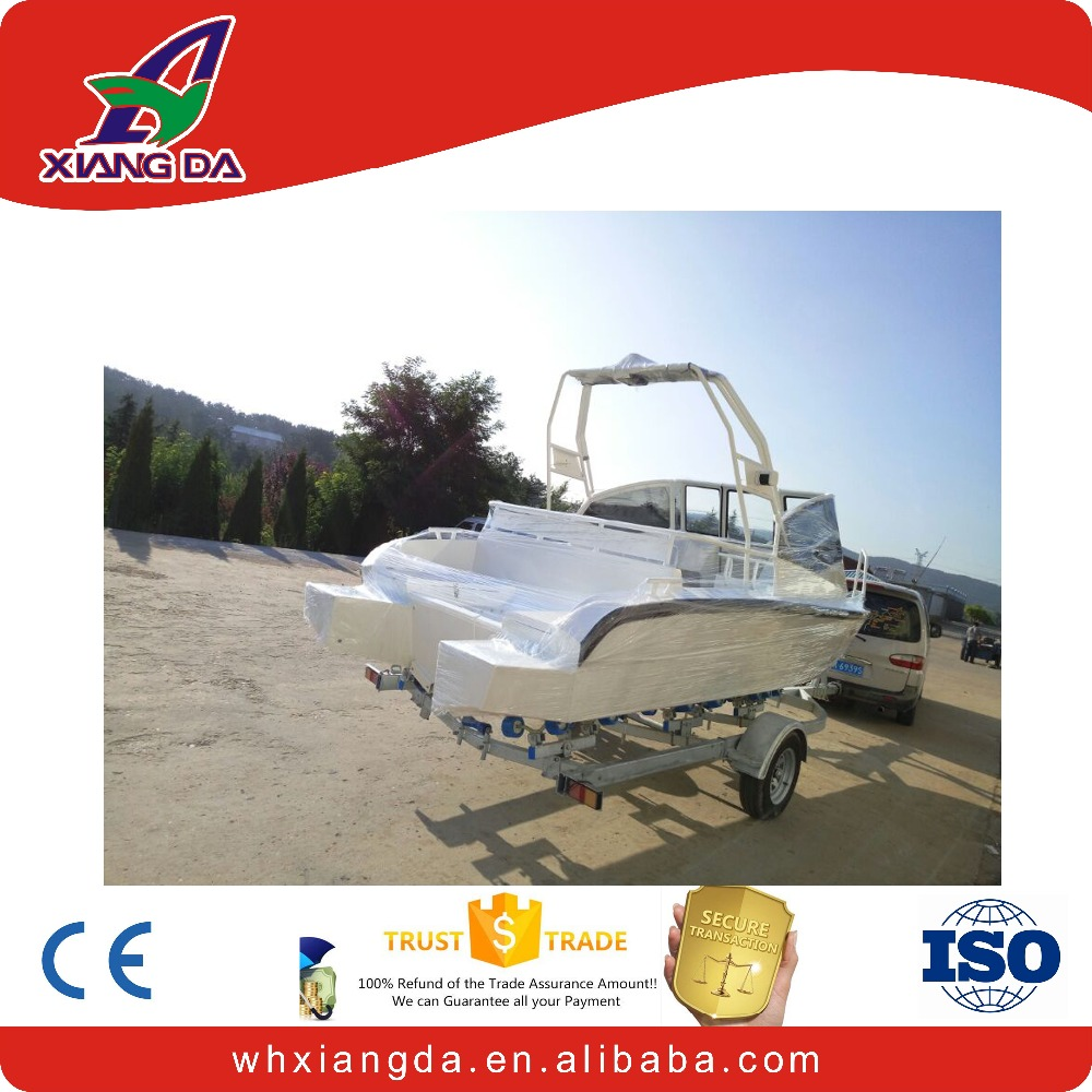 High performance aluminum hull used fishing vessels for sale