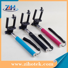 Cheapest Colorful Z07-1 Selfie Monopod, Selfie stick Monopod, monopod selfie stick for ipod touch 5