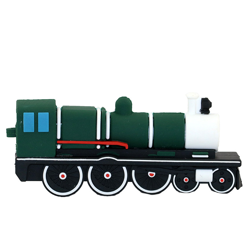 Personalized Rubber Duck Train Shape Usb Flash Drive