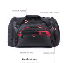 China manufacture high quality tote bag custom men polo sports bag travel bag