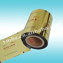 CPP aluminum printing shrinking film Roll