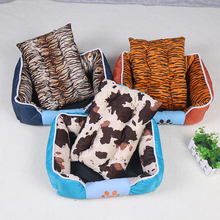 New pet products luxury waterproof cotton modern dog bed cushion
