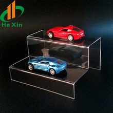 clear acrylic toy car display stand