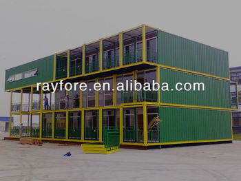 super luxury container house with 40ft containers