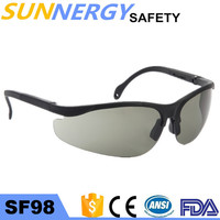 SF 98 greater vision eye proyection anti-fog scratch resistant lens safety glasses