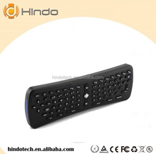 2.4ghz 6 axis gyroscope air mouse keyboard wireless t6 mini wifi fly air mouse + keyboard + remote