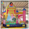 Hot sale samll Cinderella&Princess bouncy castle slide