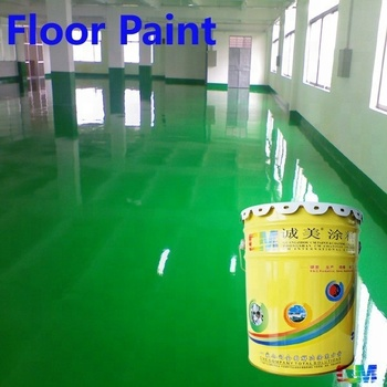 anti-static epoxy resin floor coating for interior parking place