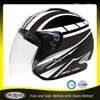 China wholesale gloss motorcycle helmet,infared motorcycle helmet, removable interior open face helmet