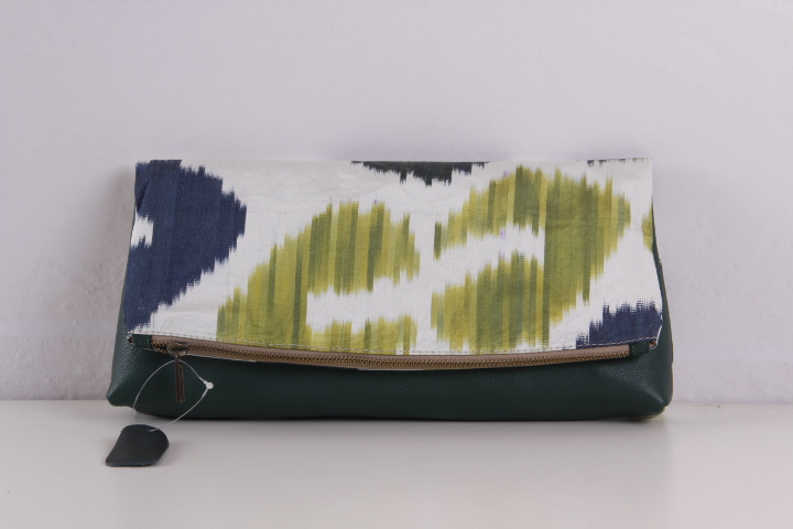 Ikat Bag - Hand Bag - Clutch Bag - ikat clutch bag