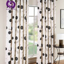 Factory Hot Sale Classic Printed Blackout Satin Home Curtains