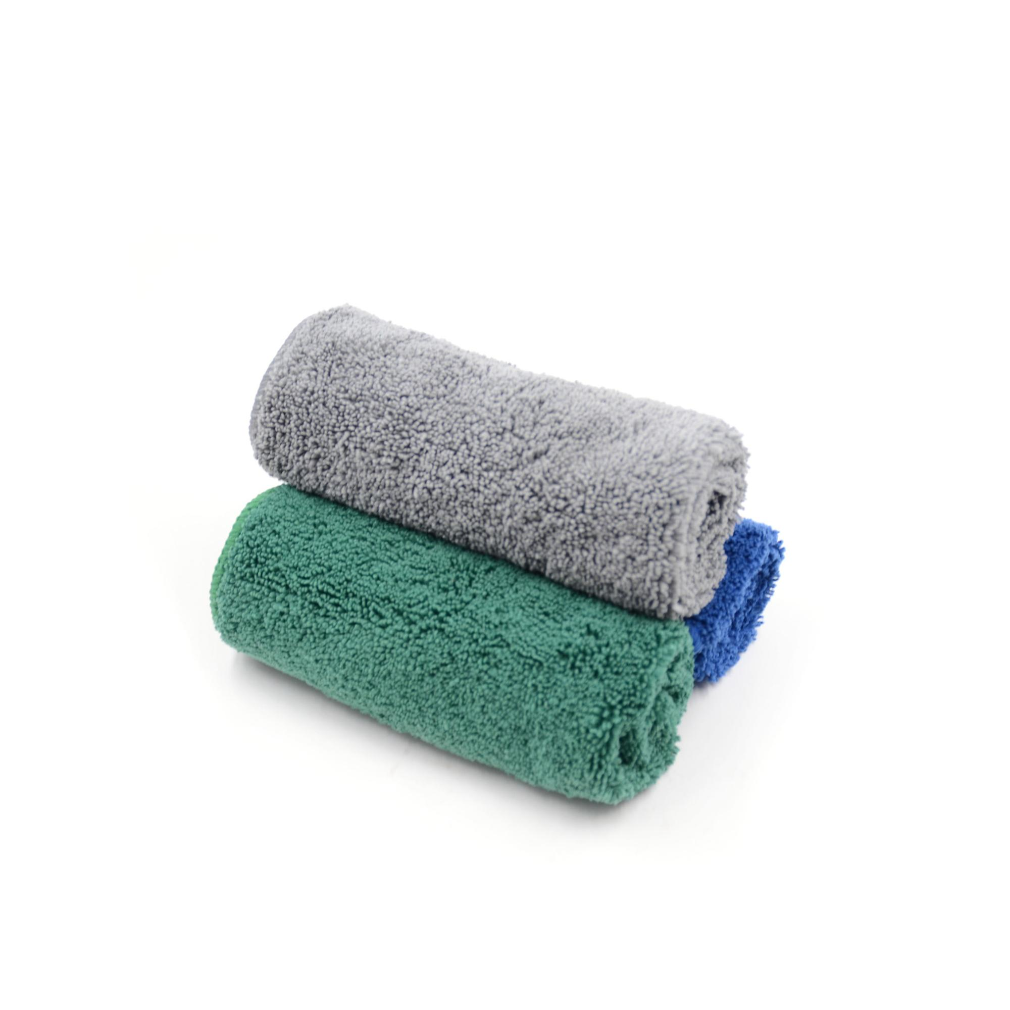 In stock standard size professional car drying dustless towel