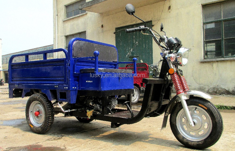 50cc EEC approved cargo tricycle