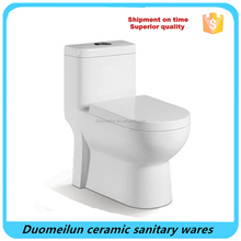 Ceramic Sanitary Ware Washdown One Piece WC Toilet Bowl