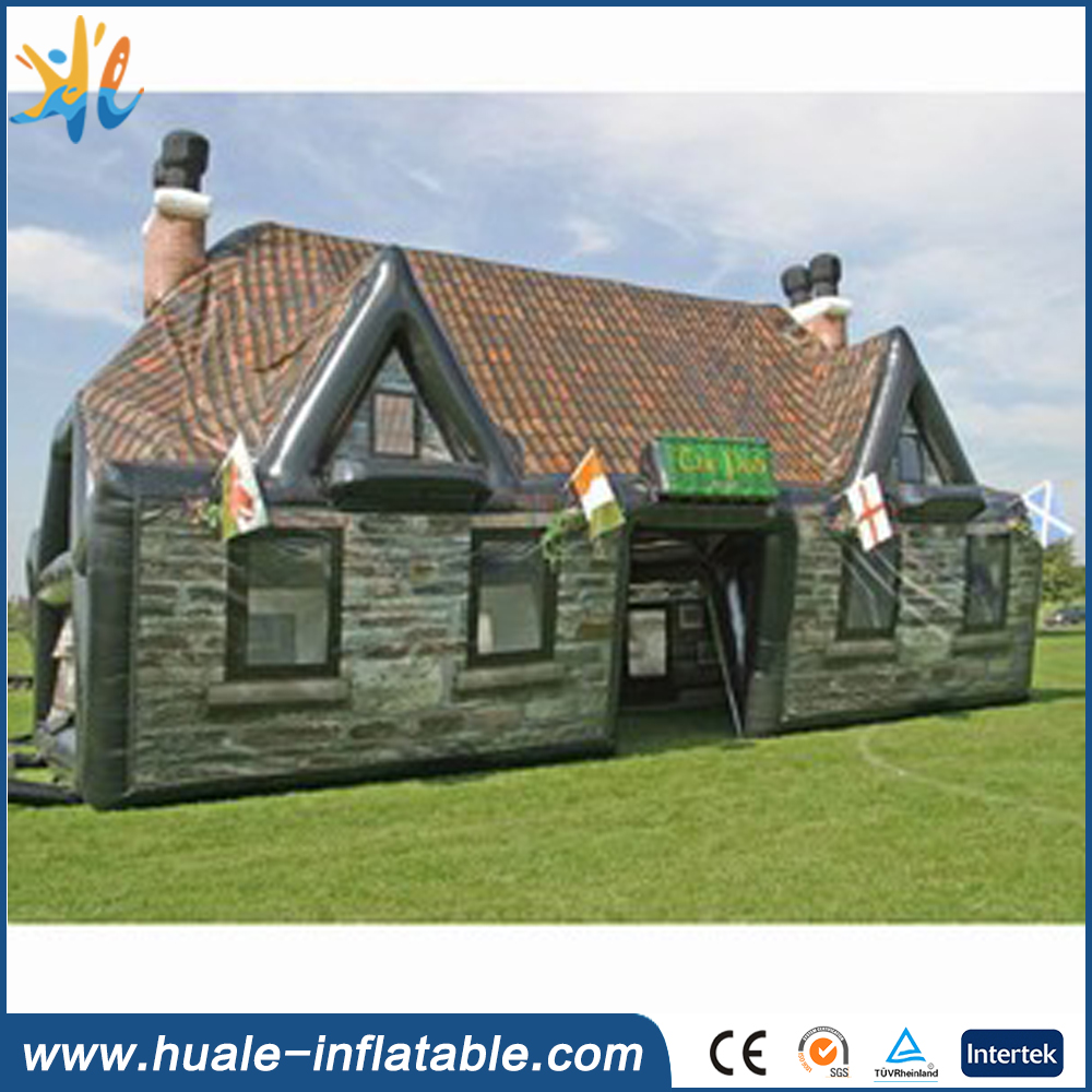 2016 new design inflatable tent room, fashion inflatable bar for sale