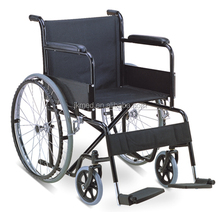 hospital wheelchair for disabled people with basket