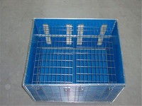 storage steel mesh container