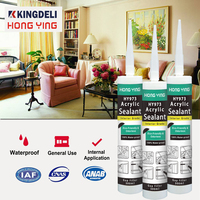 Interior grade acrylic filling gap one component sealant