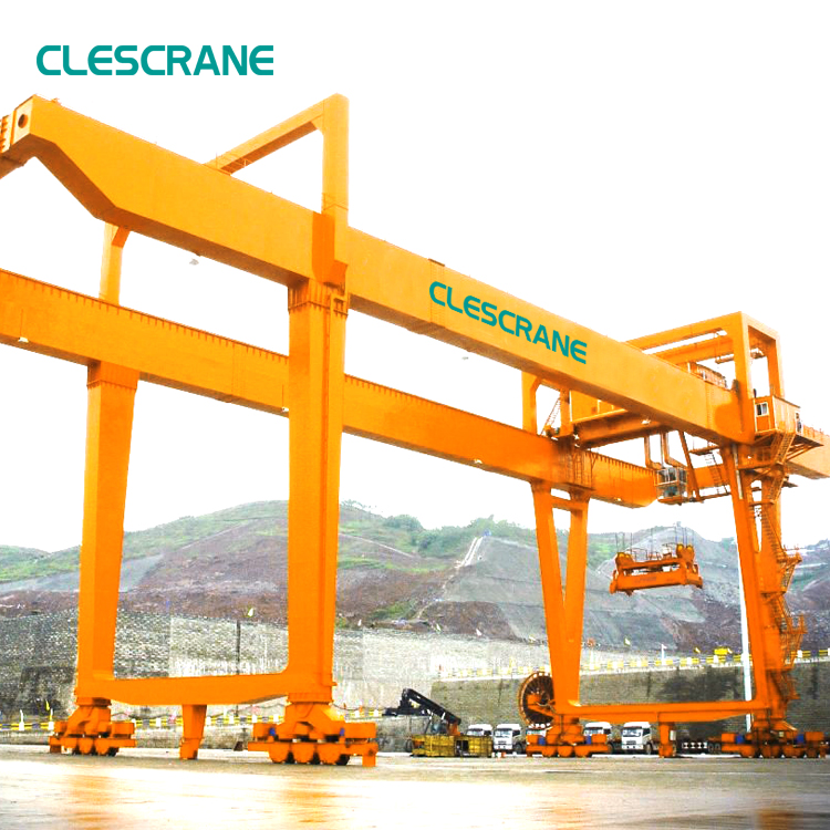 port used material handling container lifting gantry crane manufacturer