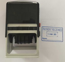 rectangle shape self-inking date stamp machine