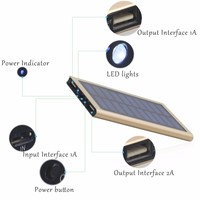 Factory Directlly Selling Portable Solar Charger