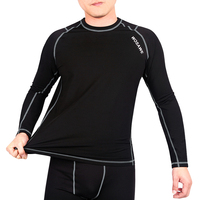 (OEM/ODM Factory) Sportswear Product Type and Sports Thermal Compression Base Under Layers Long Tops Skin Underwear