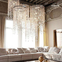 Modern Hotel Crystal Chandelier Lighting ETL82070