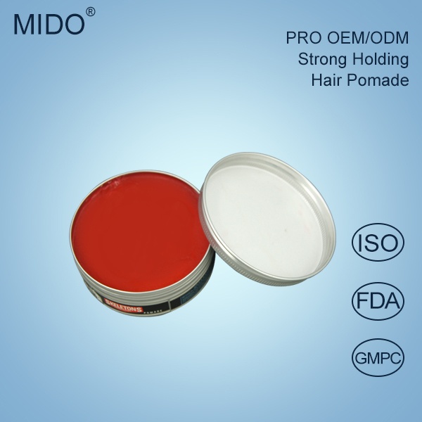 China hair care factory wholesale fashion hair styling products water based pomade wax/strong holding hair wax for men