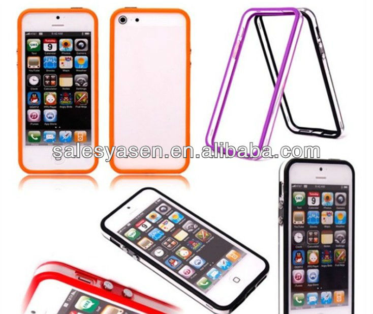 For IPHONE 4 plastic bumper case