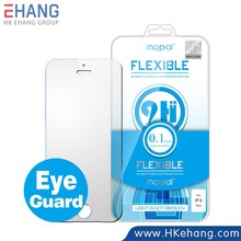 Mobile accessories eye guard anti-blue 9H Nano flexible glass screen guard screen protector for iPhone 6 Plus