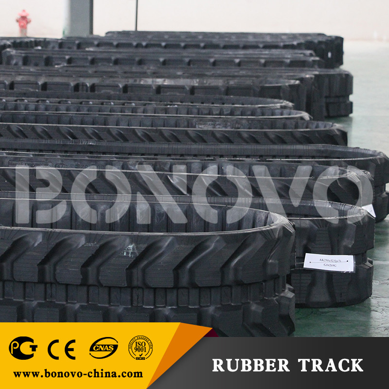 KOBELCO rubber track SK 060 450*81.5*74 for atv rubber track crawler for sale