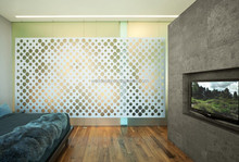 3d interior decorative metal wall panel for wall decoration