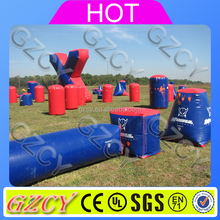 Paintball bunker inflatable air bunkers for paintball game inflatable paint ball