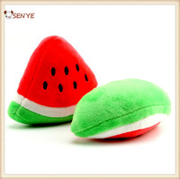 New Model Sound Knot Pet Toys Cute Water Melon Shape Pluse Dog Toys