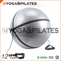 gym exercise ball with handle