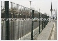 freeway wire mesh fence