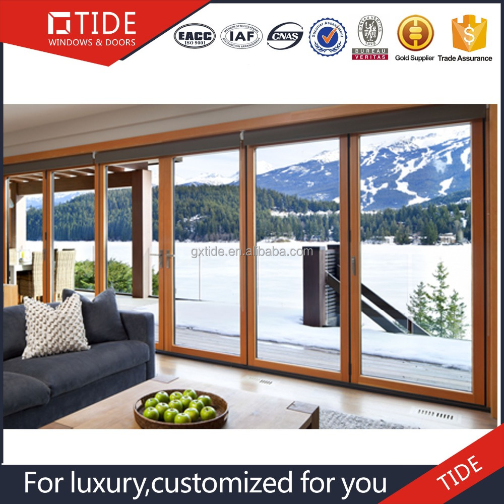 Cheap house doors/Energy efficiency heavy lift sliding wooden doors for sale
