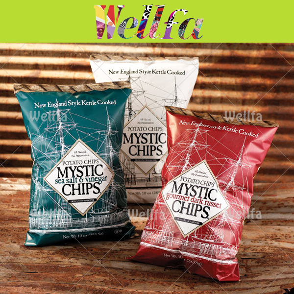Wholesale Food Grade Packaging Chips Bags for Packaging Lays Potato Chips