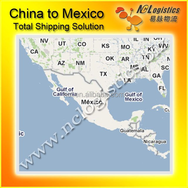 Shanghai/Ningbo To Mexico City Sea Freight Forwarder