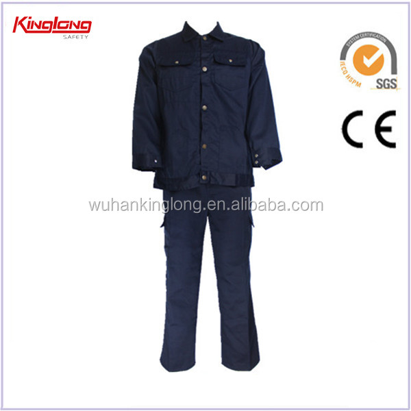 Industrial labour clothing work wear uniform men's suit