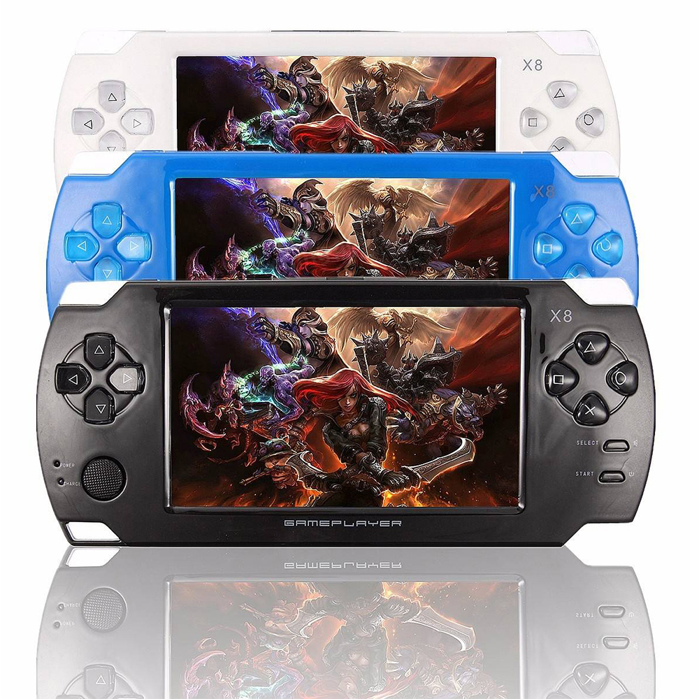Ultra Thin 8G Handheld Video Game Console