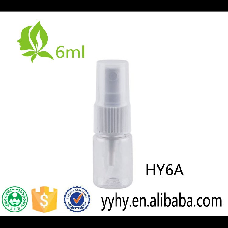 6ml PET perfume/water/skin care bottle