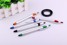 low price ball pen making machine latest design smartphone phone screen touch stylus ball pen with custom logo pens