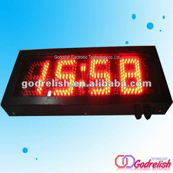 Plastic outdoor clock mechanical counter meter