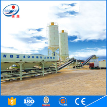 WBZ 400 ton/h ready mixed concrete batching plant with low price
