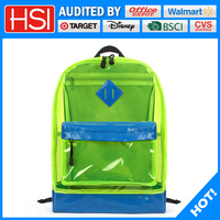 ningbo happiness online stores stylish pvc school bag for kids