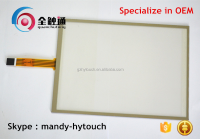 Resistive Type and Stock Products Status 5 Wires Touch Screen Resistive
