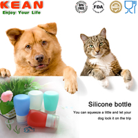 china manufacturer reusable portable silicone travel bottle/Silicone Essential Oil Container