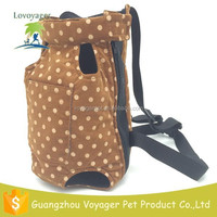 Lovoyager 100% Polyester Dot Design Front Pet Carrier