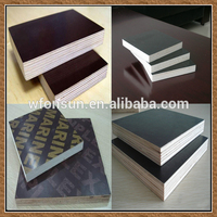 hot sale hardwood plywood/film coated plywood/phenolic poplar core film faced plywood